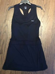 Reebok Tennis Dress Size Small Mesh Lace V- Neck
