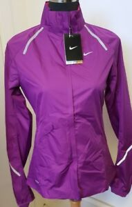 Nike Storm Fit Fly Jacket Womens Running Lightweight Stay Dry UK Small 425089 (Y