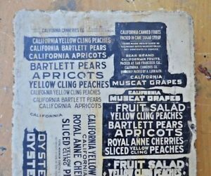 Antique VTG CALIFORNIA Lithograph Printing Stone 1900's San Francisco Mission