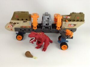 Matchbox mega Rig Jurassic Copter Dinosaur Capture Helicopter Replacement Pieces