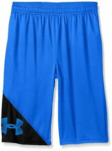 Under Armour Boys' Tech Shorts Ultra Blue (907)Ultra Blue Youth X-small