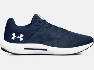 New Under Armour Men's Micro G Pursuit 4E Wide Running Shoes - Academy - Size 12