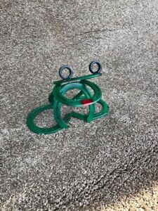 Metal frog yard art - welded from recycled horse shoes $40.00
