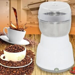 Electric Coffee Grinder Nuts Spices Bean Grinding Stainless Steel Herbs Mill