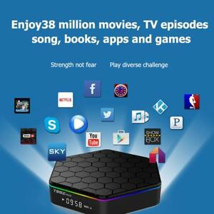 T95Z Plus Smart TV Box Android6.0 Octa Core 3G+32G WIFI BT H.265 4K Media Player