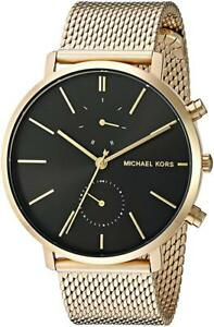 BRAND NEW Michael Kors Men's Gold Tone Stainless Mesh Bracelet Watch MK8503