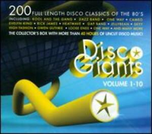 Disco Giants Vol. 1-10 by Various Artists: New