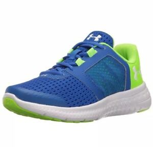Under Armour Boys Preschool BPS Micro G Fuel RN Running Shoes Blue 1285439-907