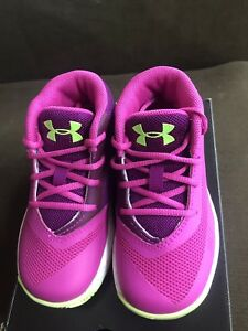 Under Armour Infant Curry Athletic Shoes #1276276-878 Size 6K