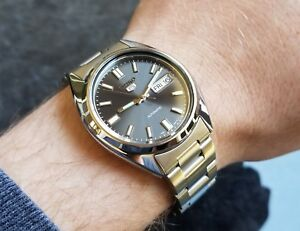 SEIKO 5 SNXS79 Stainless Steel Oyster Bracelet Automatic Men's Watch SNXS79K1