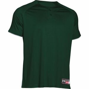 Under Armour Men's Stock Classic Henley Baseball Jersey