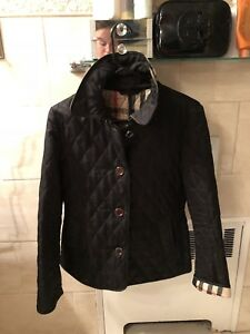 WOMENS BURBERRY QUILTED JACKET SIZE SMALL RETAIL $595
