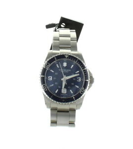 Victorinox Swiss Army Maverick GS Blue Dial Stainless Steel Watch for Men 241602