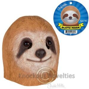 Sloth Mask Funny Novelty Gag Gift