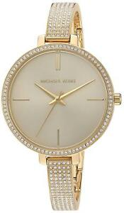 Michael Kors Women MK3784 Jaryn Crystal Pave Gold Stainless Steel Bracelet Watch
