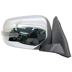 NEW Chrome Right Electric Side Mirror w LED For Mitsubishi Triton L200 2005 14 $142.00