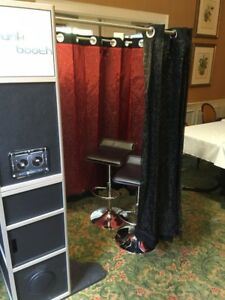 Photo Booth Shell with TouchscreenLED lights & Custom Sound System!!!