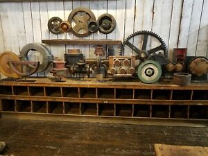 25 Piece Collection Wooden Factory Foundry Molds Industrial
