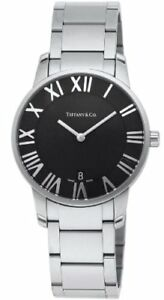 [Tiffany] Tiffany & Co. Watch AtlasDome Black Dial Z1800.11.10A10A00A Men's para