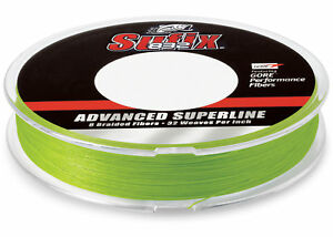 Sufix 832 Braid Fishing Line 600 Yds 65 Lb. Neon Lime