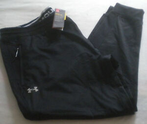NWT $80 Mens UNDER ARMOUR ColdGear Reactor JOGGER Fitted RUN PANT 4XL TALL 4XL-T