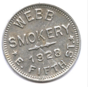 WEBB SMOKERY 1928 E. FIFTH ST. * NO PIX IN ONLINE CATALOG !! * DAYTON OHIO