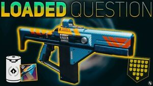 Destiny 2 Vanguard Pinnacle Loaded Question Weapon (PS4) *FAST COMPLETION*