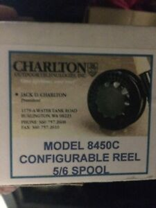 Charlton 8450c 56 Fly Reel Sealed in Box