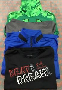 Under Armour Boys Youth Extra Large Storm Hoodie Lot Tops YXL Loose Fit