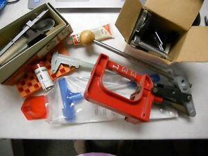 Used Reloading Equipment Lot  Lee  Midway Redding  Press Scale  Bullet Puller ..