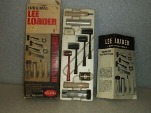 ORIGINAL LEE LOADER 12 GAUGE SHOTGUN SHELL RELOADING SYSTEM TOOL KIT WPAPERWORK