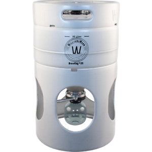 Williams Warn BrewKeg25 - 25 L (6.6 Gallon) Conical Unitank Fermenter Keg Beer