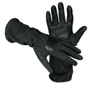 SOG OPERATOR TACTICAL GAUNTLET GLOVE WITH KEVLAR & NOMEX SIZE LARGE