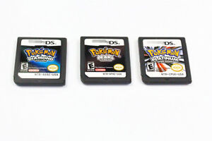 Nintendo Pokemon PlatinumDiamondPearl version game card for 3DS NDSI DSI DS US