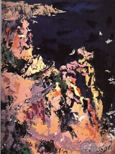 """$3.5k LeRoy Neiman""""Bikes and Boats"""" HOLIDAY SALE !! OFFER UP TO 70% OFF LIST"""