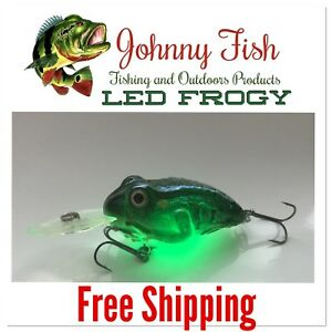 frog fishing lures - LED Frogy
