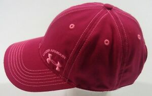 Under Armour Golf Baseball Cap Pink One Size