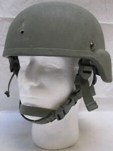 SDS ARMY ADVANCED COMBAT HELMET MADE W KEVLAR ACH LARGE 8470-01-523-0071 USED