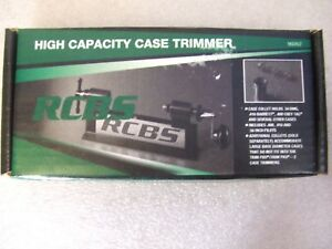 NEW IN BOX RCBS HIGH CAPACITY CASE TRIMMER 90352