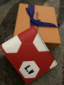 Louis Vuitton Mens Wallet FIFA Red Slender Wallet NEW-LIMITED EDITION-SOLD OUT