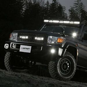 IPF LIGHT BAR 600series RAIJIN (DOUBLE - ROW) Fog Lamp Work Light LED Light Bar