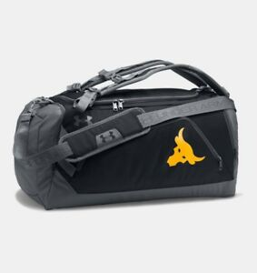 Under Armour x Project Rock Contain 3.0 Backpack Duffle Bag - NEW