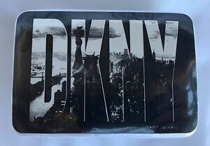 DKNY T SHIRT WHITE CLASSIC LOGO COMPRESSED BLOCK RARE SEALED STATUE OF LIBERTY