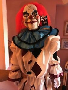 Halloween Trick Or Treat Studios Dead Silence Mary Shaw Clown Puppet Prop NEW