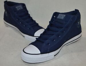 Converse Men's All Star CT Street Mid-Top M-NavyGrey Sneakers-Assorted Size NWB
