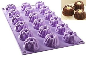SILICONE MOLD NR. 18 MINI FANTASY ø40 H 0 78in FANCY FUNCTION of SILIKOMART