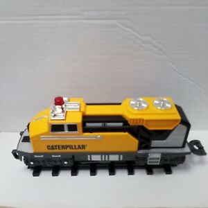 Caterpillar CAT Equipment Motorized Construction Express Train Set Tested Video