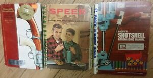 RELOADING MANUALS AND HANDBOOKS LOT SPEER HORNADY PACIFICS