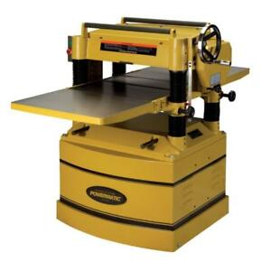 Powermatic-1791315 209HH 20 In. Planer 5 HP 1PH 230 V with Byrd Cutter H