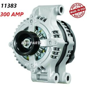 300 AMP 11383 Alternator Dodge Magnum Charger Challenge Chrysler 300 High Output